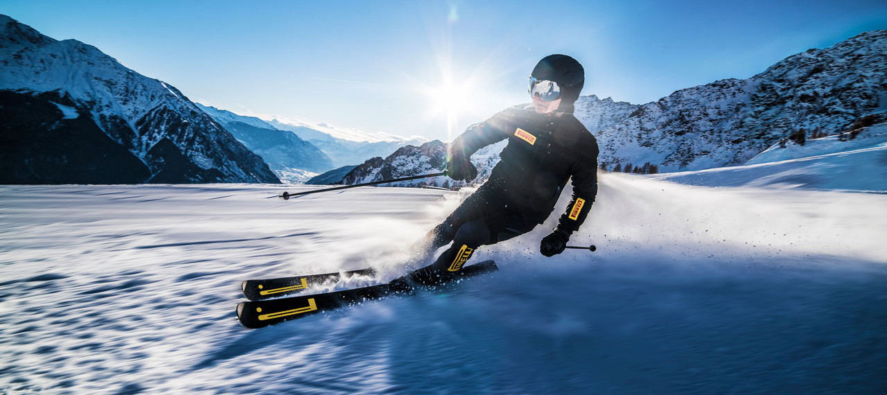 Introducing Top of The Line Pirelli Skis